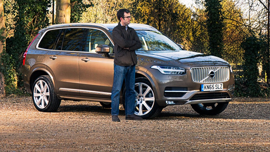 Tim Pollard And Car S New Volvo Xc90 D5 Inscription