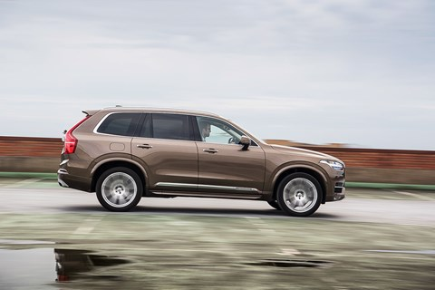 A WUV: the Volvo XC90 in waft mode