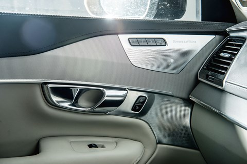 Sublime Bowers & Wilkins stereo in our Volvo XC90