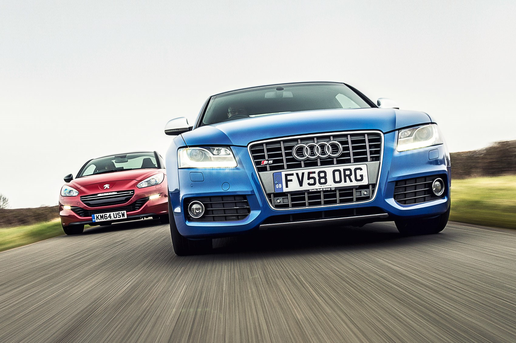 Used car stars 2016: Peugeot RCZ-R vs Audi S5, CAR+ June 2016 | CAR ...