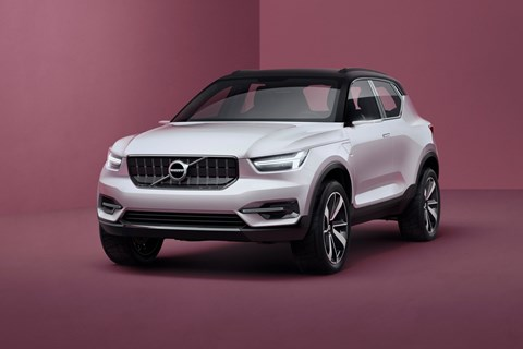 Concept for new Volvo XC40