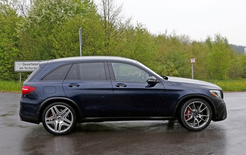 Mercedes-AMG GLC 63: side profile