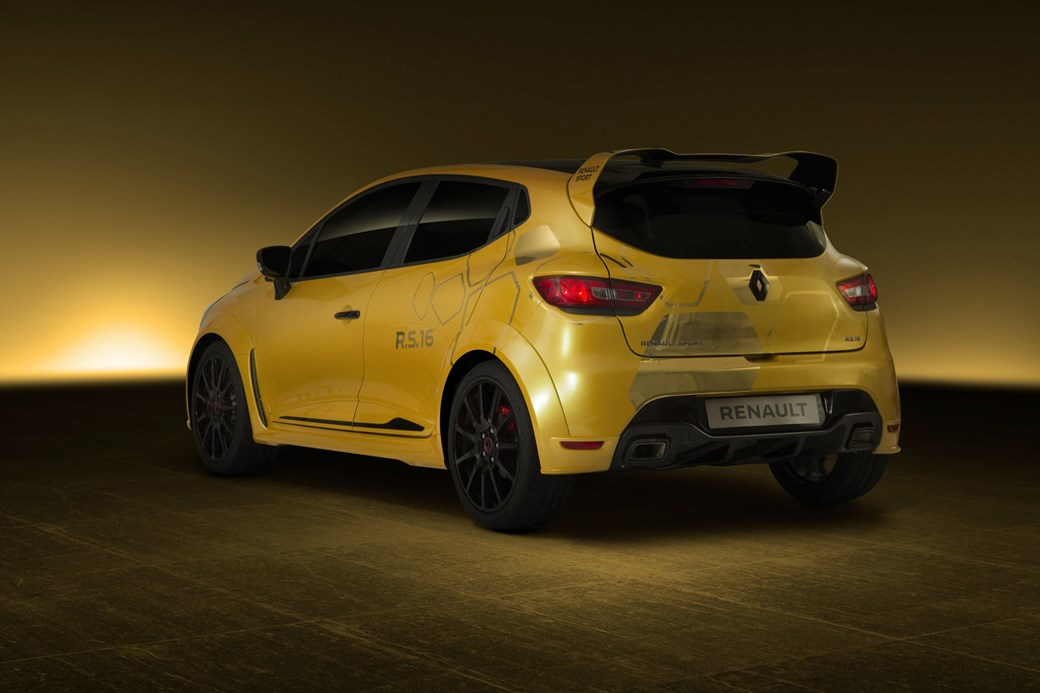 Everyone Can Relax Its A Manual New Renault Clio Rs 16 Concept