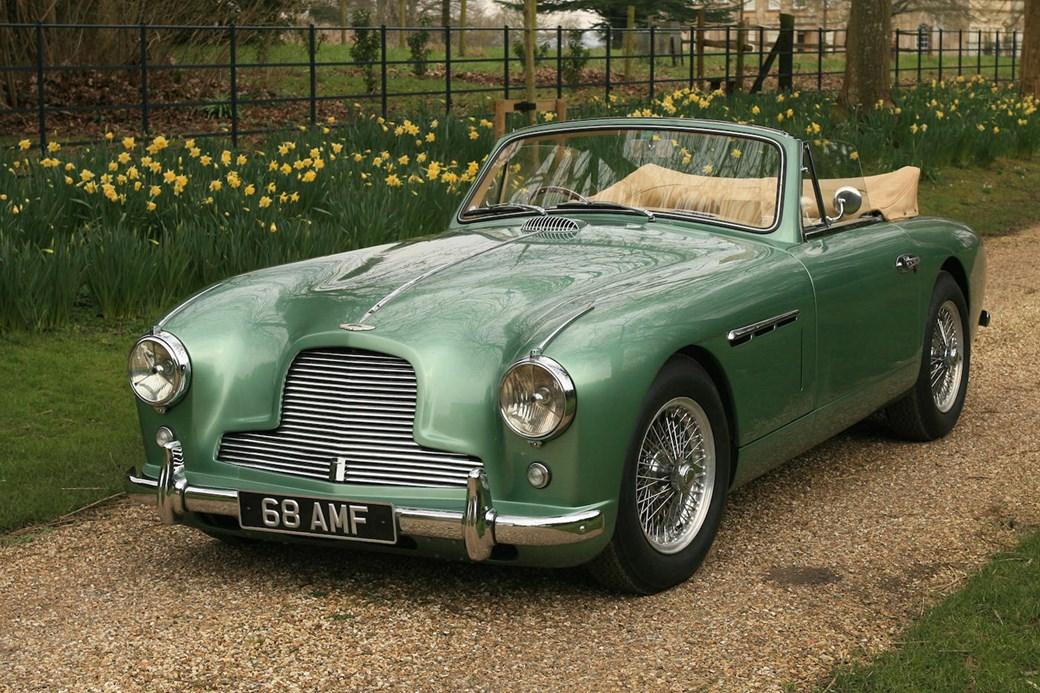 The CAR Top Stars Of The Aston Martin Sale CAR Magazine - Old aston martin for sale