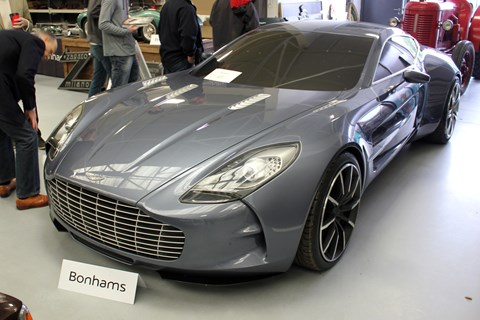 Aston Martin One-77 design prototype
