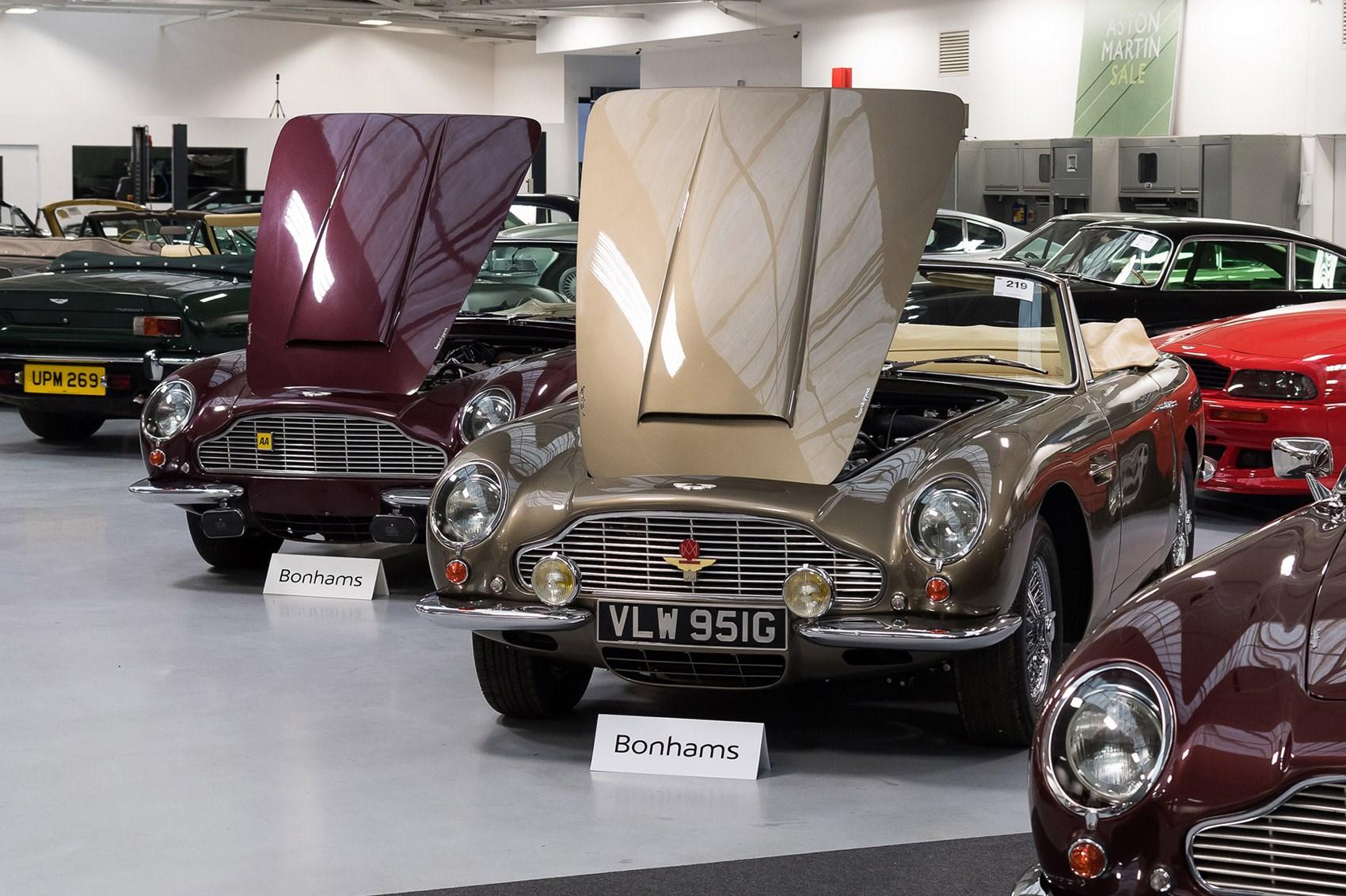 The CAR Top Stars Of The Aston Martin Sale CAR Magazine - Aston martin sale