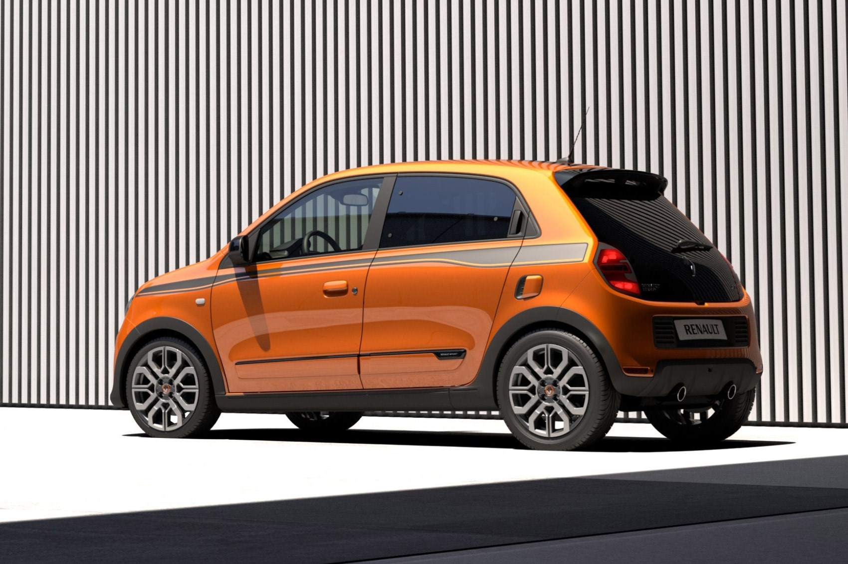 that 39 s more like it new renault twingo gt revealed by car magazine. Black Bedroom Furniture Sets. Home Design Ideas