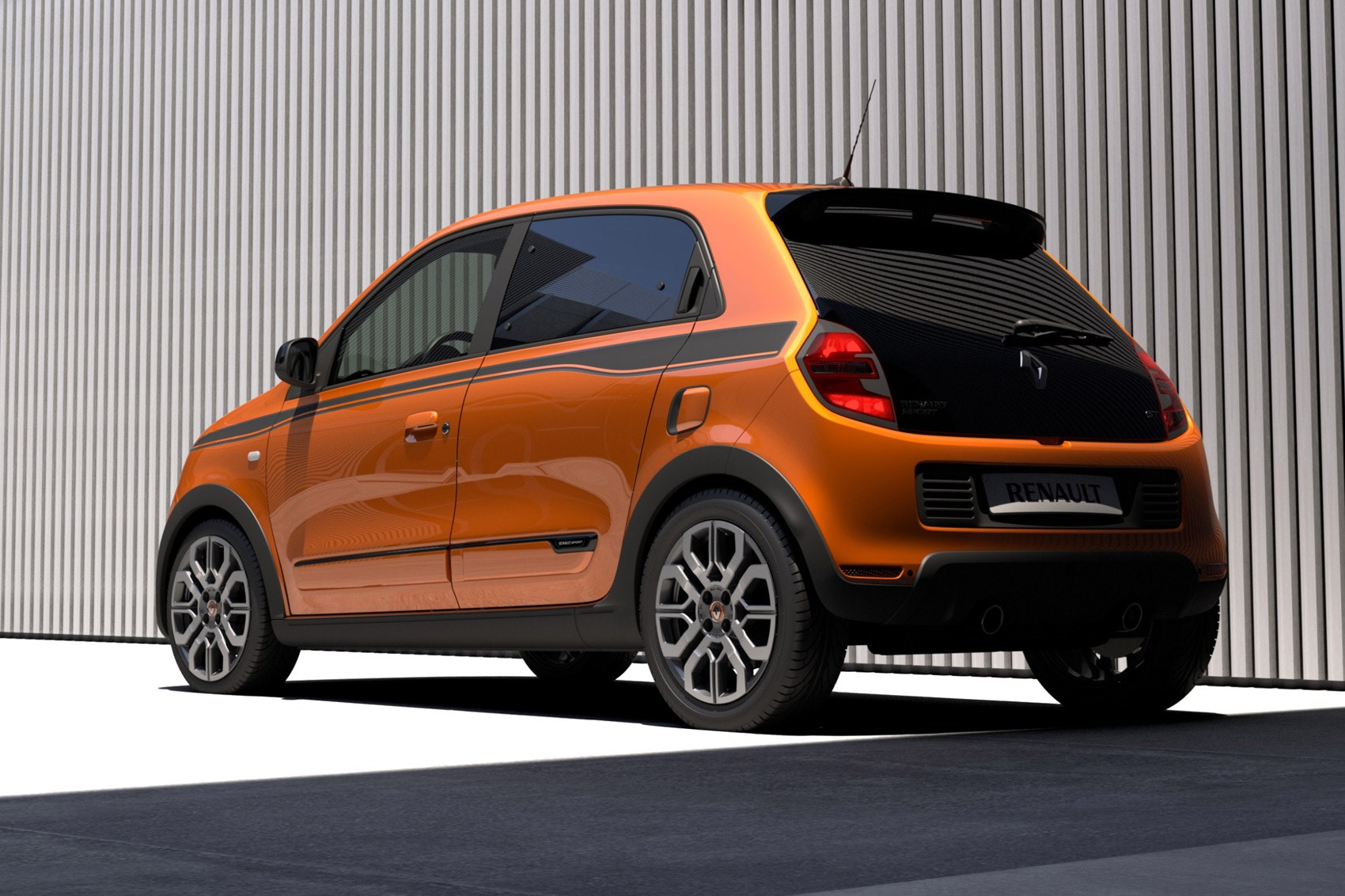 that 39 s more like it new renault twingo gt revealed car magazine. Black Bedroom Furniture Sets. Home Design Ideas