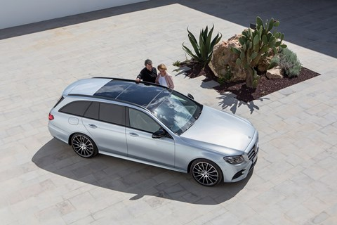 New suited and booted Mercedes-Benz E-class Estate
