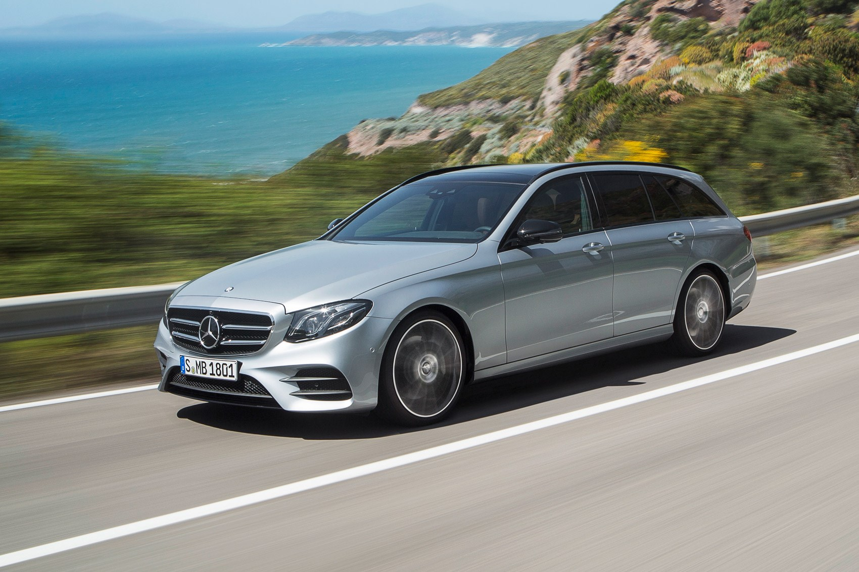 Vast New 2016 Mercedes Benz E Class Estate Unveiled By Car