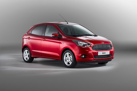 Ford Ka+ uses Fiesta underpinnings