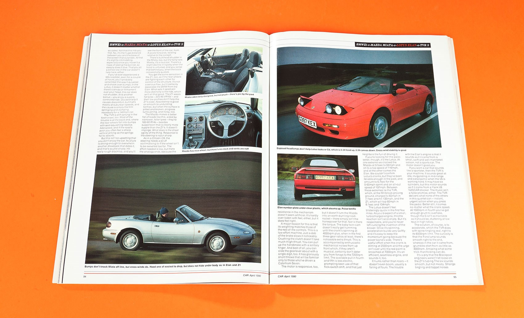 Losing our heads: BMW Z1 vs Lotus Elan vs Mazda MX-5 vs TVR