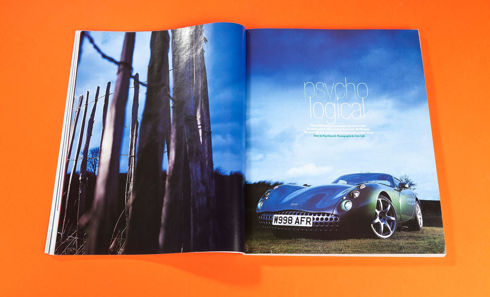 Psycho Logical Tvr Tuscan Tested Car Archive 2000 Magazine Remote Starter 5