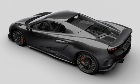Carbon-clad McLaren 675LT Spider