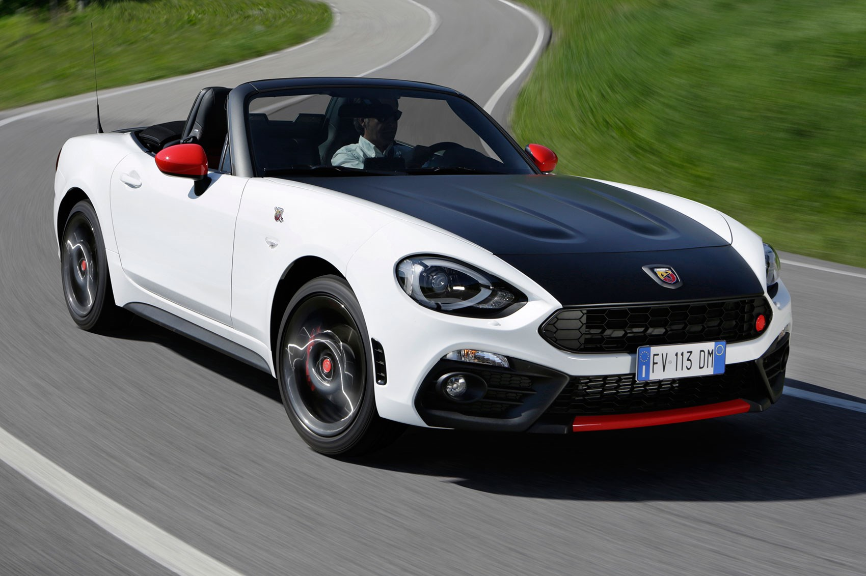abarth 124 spider 2016 review by car magazine. Black Bedroom Furniture Sets. Home Design Ideas