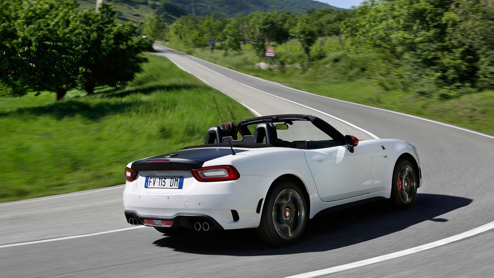 abarth 124 spider 2018 review gt version driven car. Black Bedroom Furniture Sets. Home Design Ideas