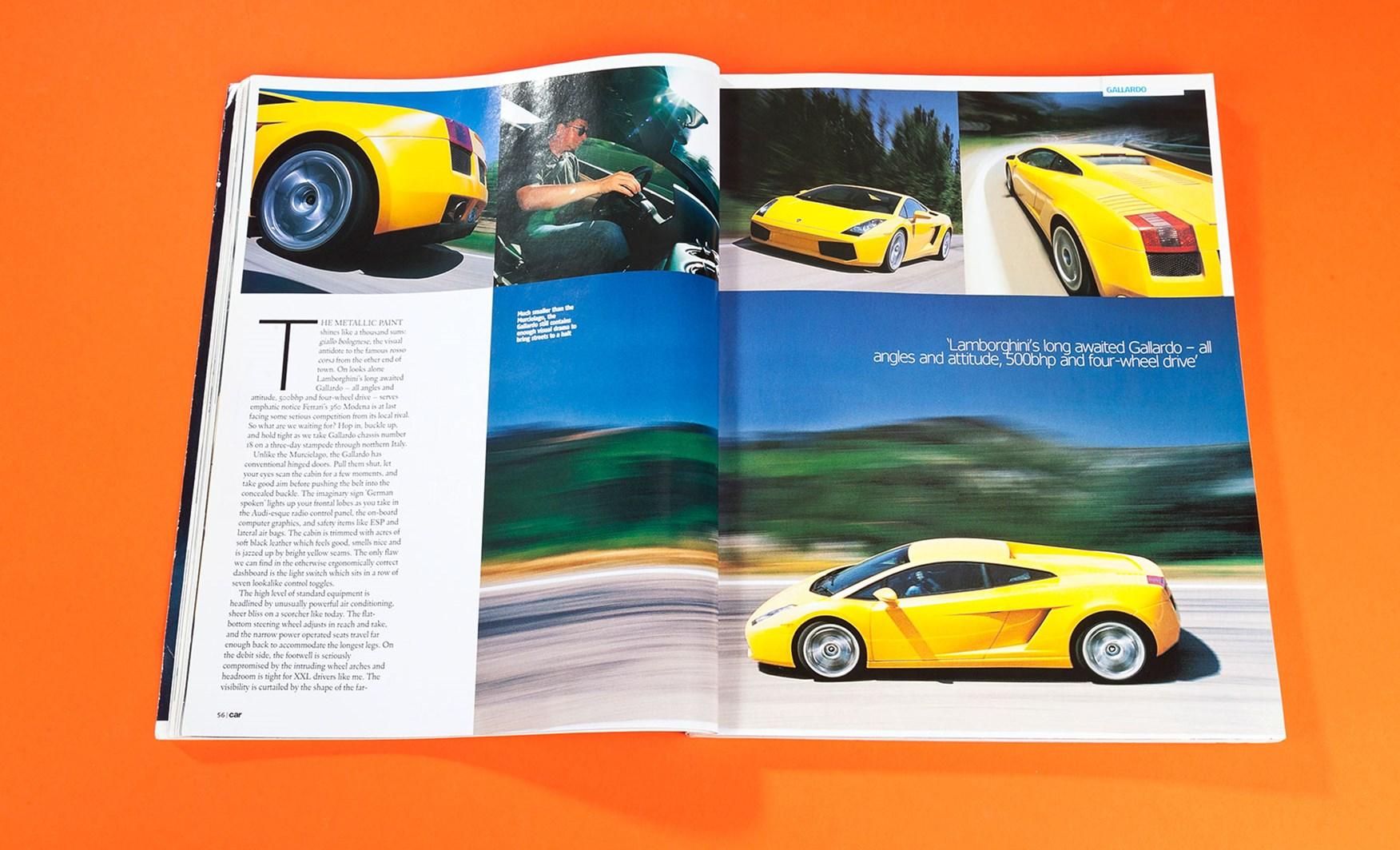 Thunder Flash Lamborghini Gallardo Review Car Archive 2003 Car Magazine