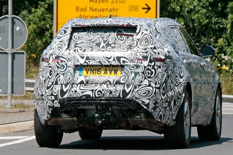 2016 Range Rover Velar prototype