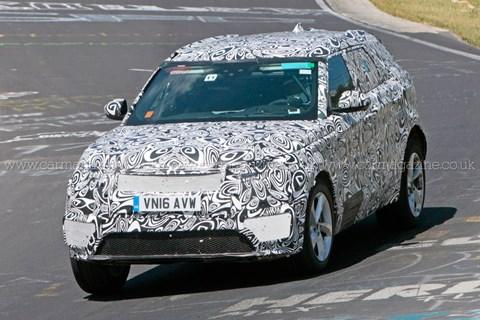 2016 Range Rover Velar prototipi