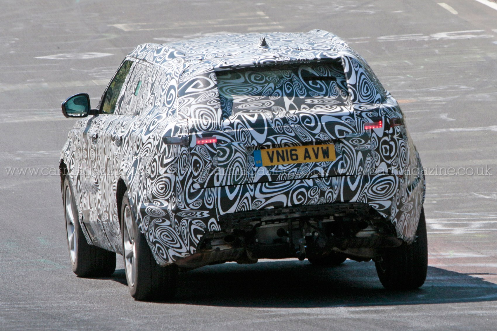 2016 Range Rover Coupe Velar Spy