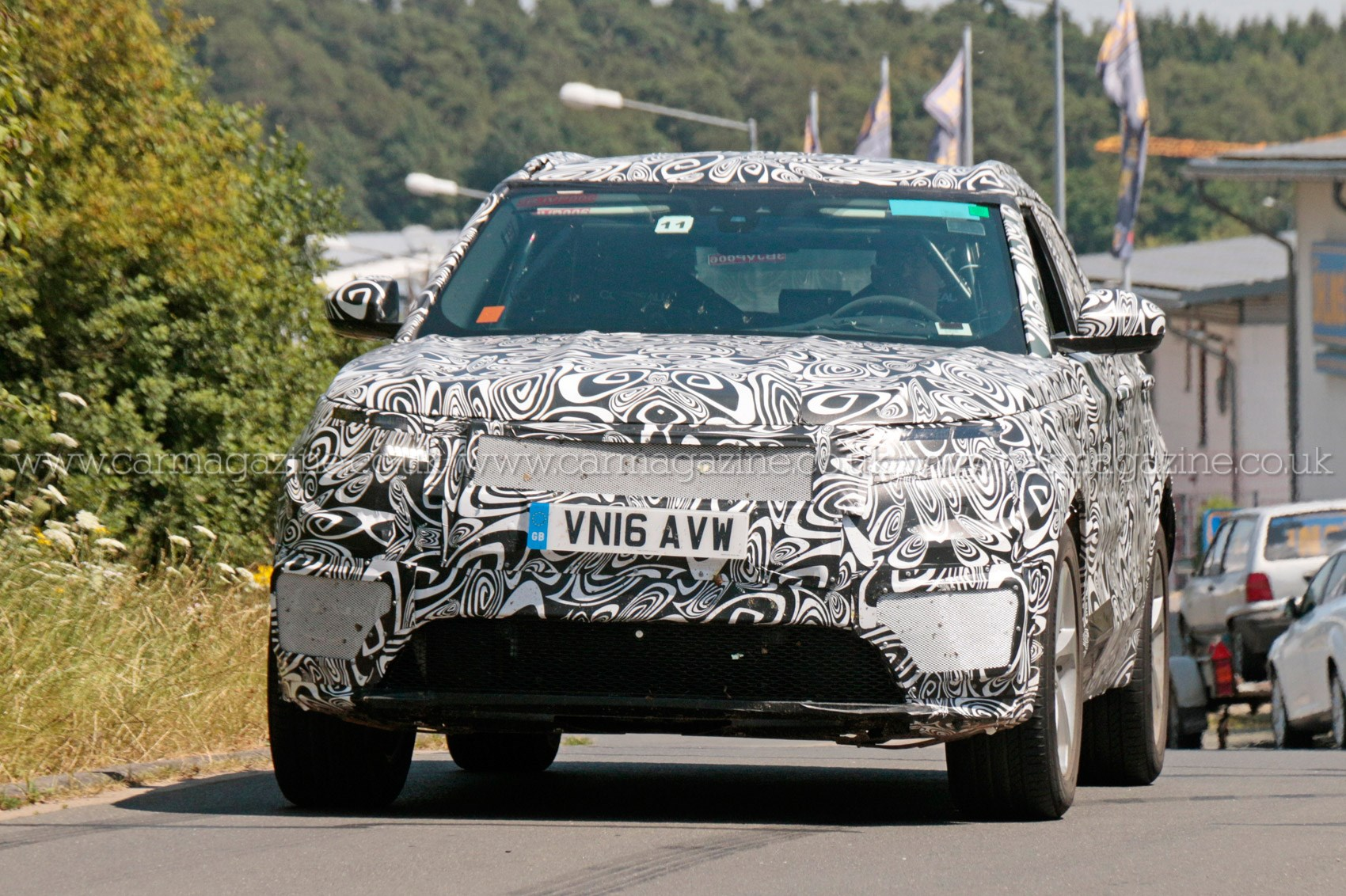 Fourth Range Rover model scooped latest news on Land Rovers X6