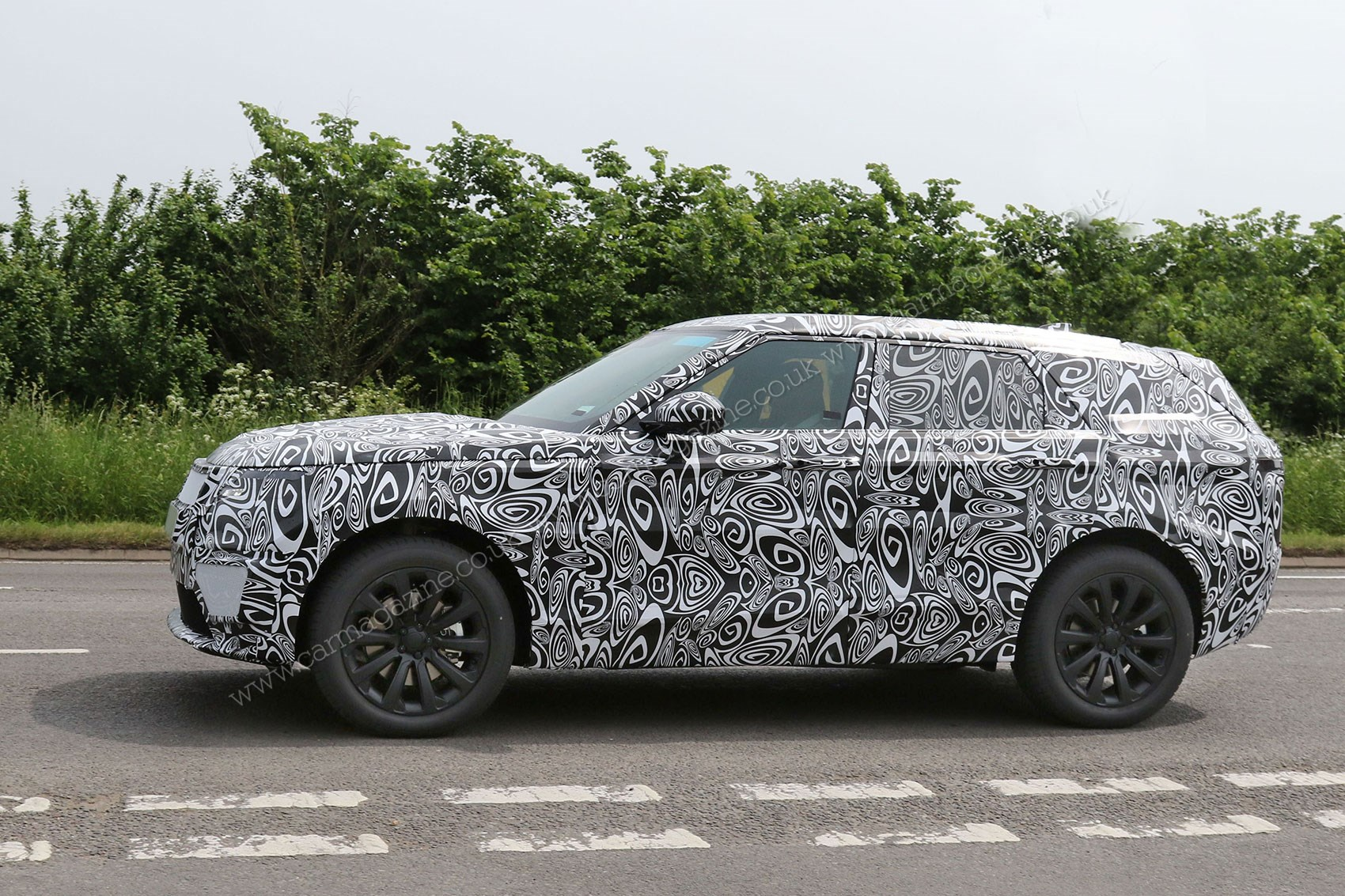 Range Rover Evoque 2018 Interior >> Fourth Range Rover model scooped: latest news on Land Rover's X6 rival, dubbed Velar by CAR Magazine