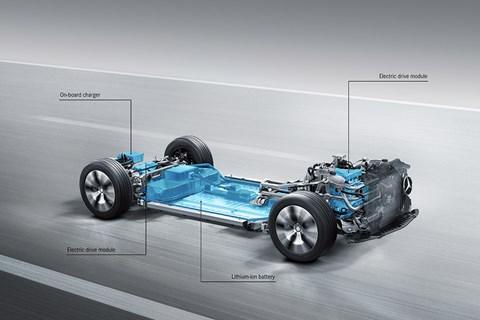 Mercedes-Benz electric powertrain
