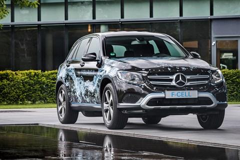 Mercedes-Benz fuel cell prototype