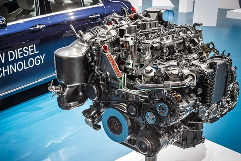 Mercedes powertrain preview