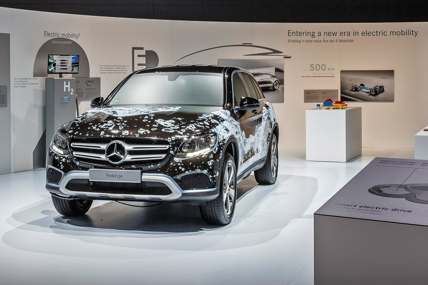 Mercedes Announces All Electric Car And Plug In Hybrid Hydrogen Fuel