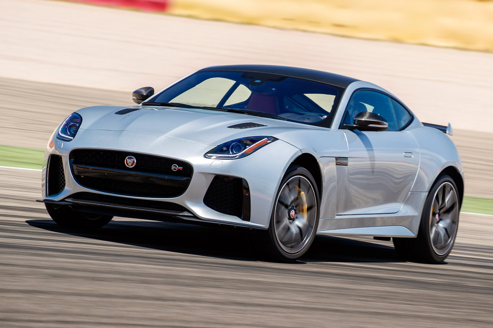 jaguar f type svr 2016 review by car magazine. Black Bedroom Furniture Sets. Home Design Ideas