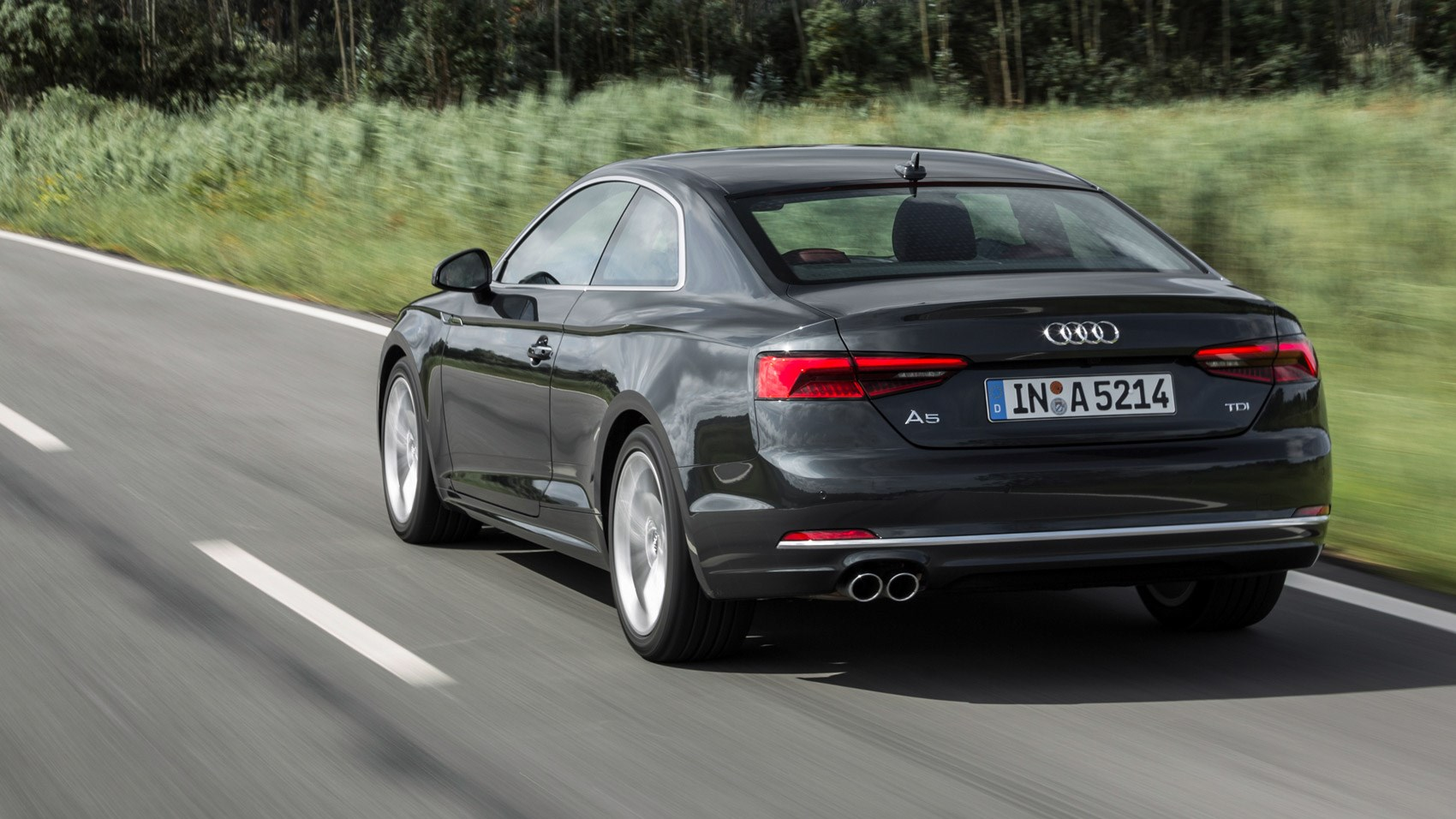 audi a5 2 0 tdi 190 coupe 2016 review by car magazine. Black Bedroom Furniture Sets. Home Design Ideas