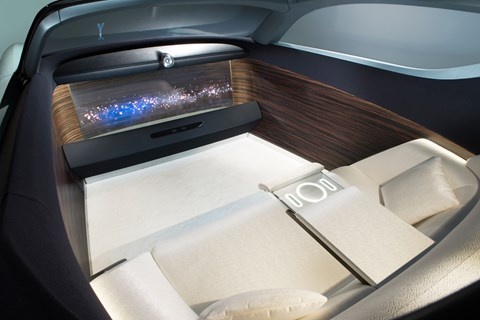 2016 Rolls-Royce Vision Next 100 concept