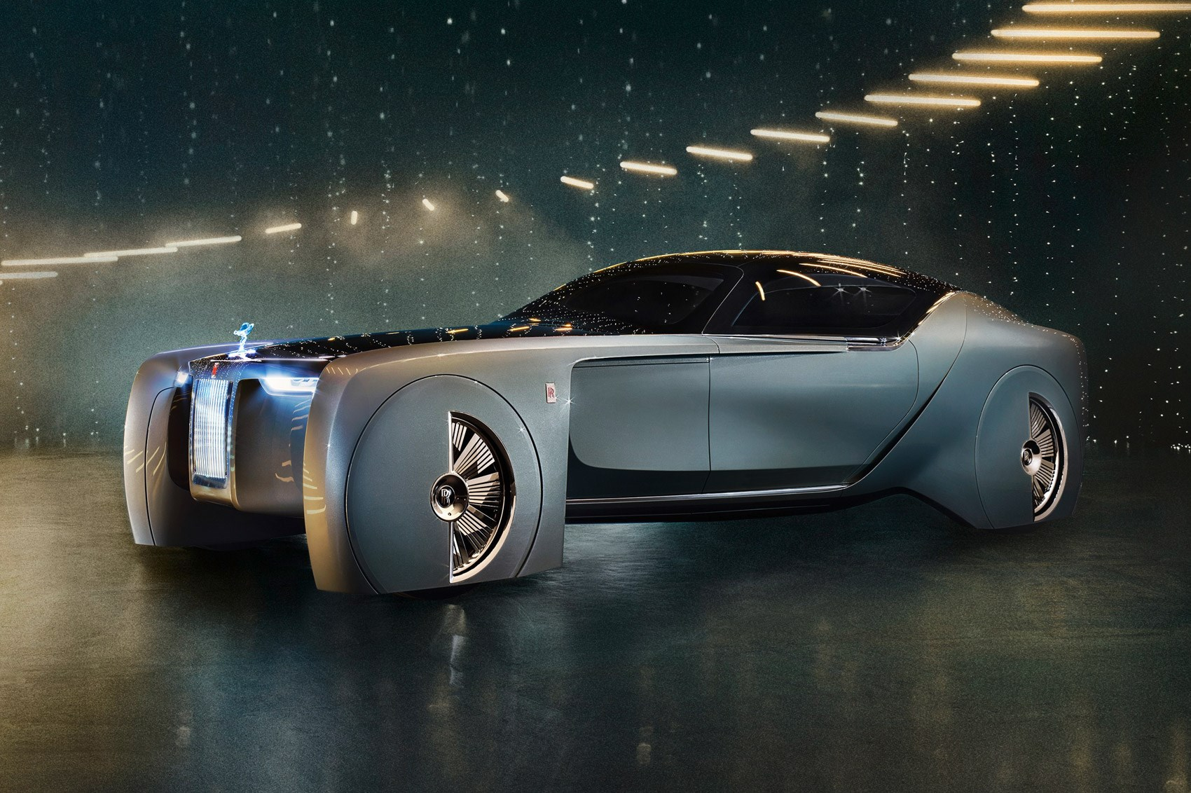 2016 Rolls Royce Vision Next 100 Concept