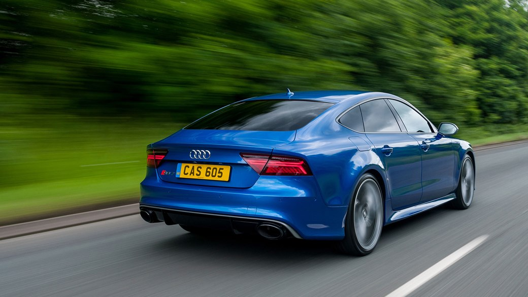 Audi RS Sportback Performance Review CAR Magazine - Rs7 audi