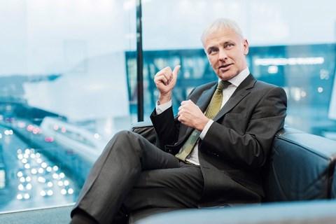 VW chief Matthias Mueller