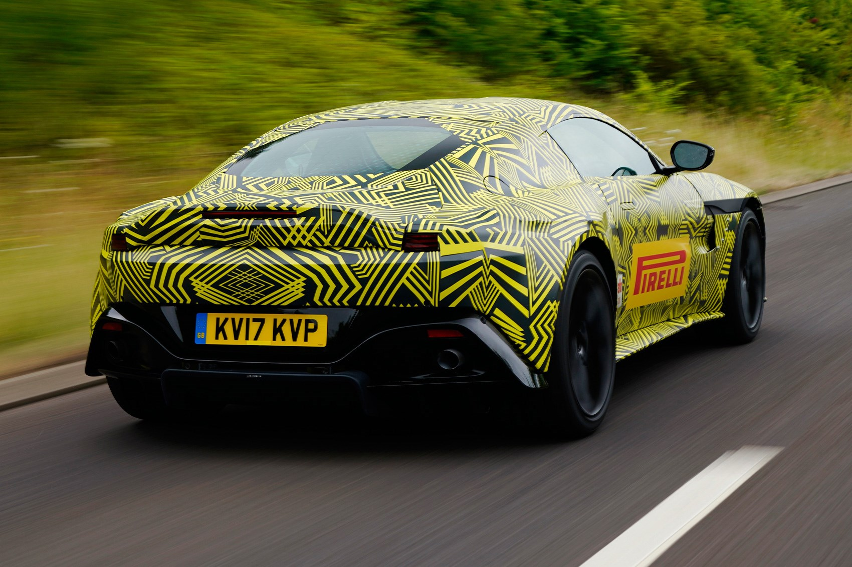 New 2018 Aston Martin Vantage Pics Specs Prices Car Magazine