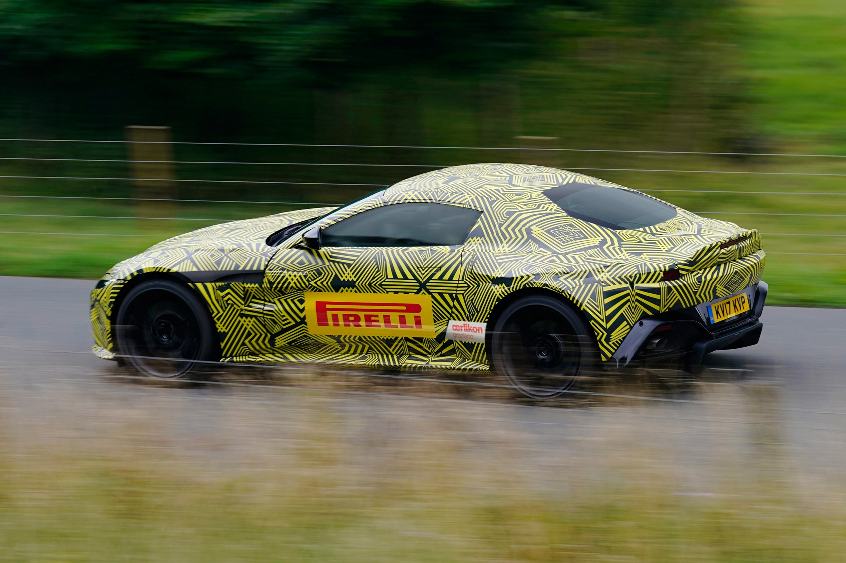 New Aston Martin Vantage Pics Specs Prices CAR Magazine - Aston martin v8 vantage 2018