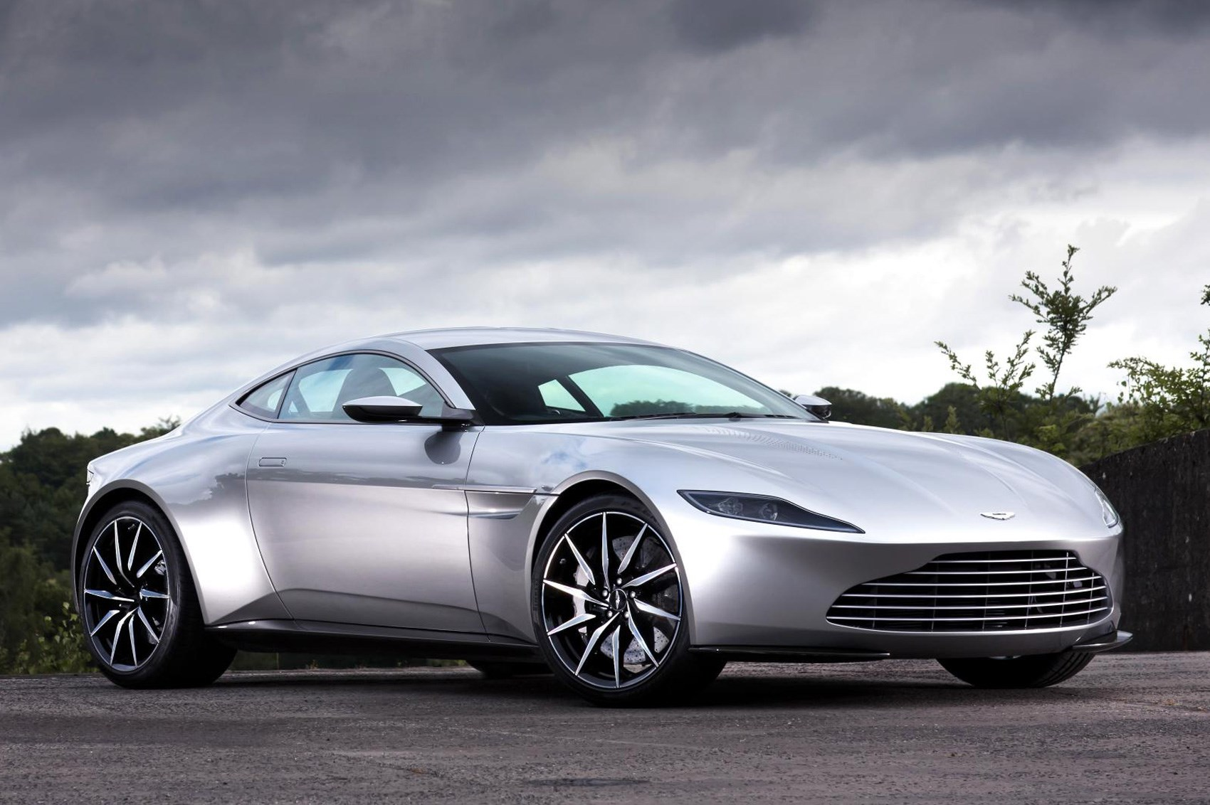 Aston Martin First James Bond Car