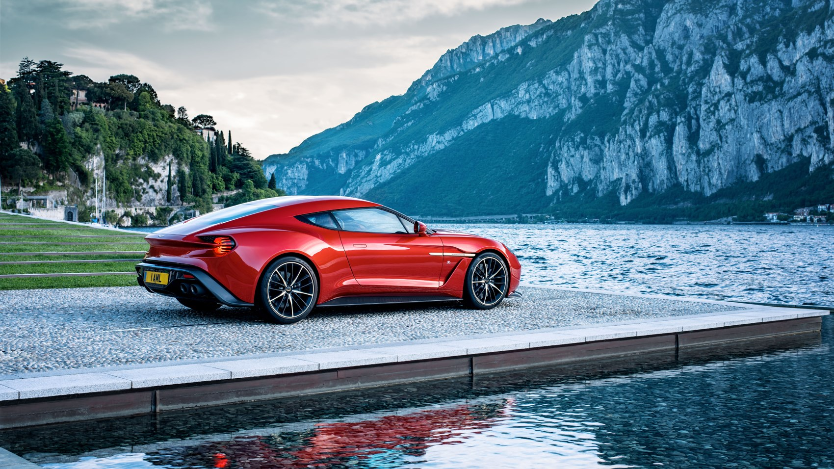 Dream Concept Becomes Reality: Aston Martin Vanquish Zagato Enters Limited  Production For 2017 | CAR Magazine