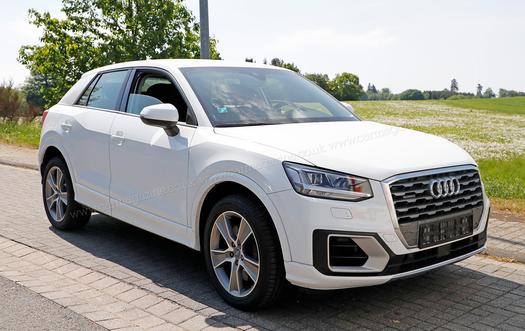 Audi SQ Crossover Spy Photos News Prices On Sale Date CAR - Car leasing ireland audi