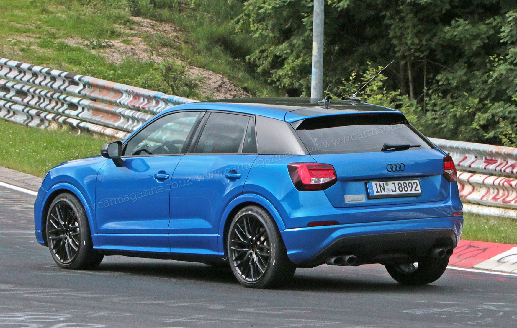 Audi Sq2 Blows In Turns Baby Crossover Into Ring Rocket