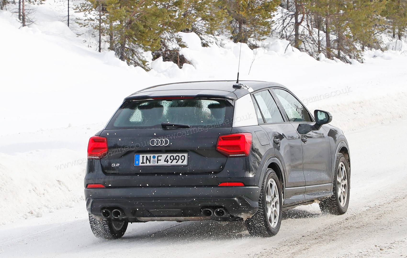 Audi Sq2 Crossover Spy Photos News Prices On Sale Date Car