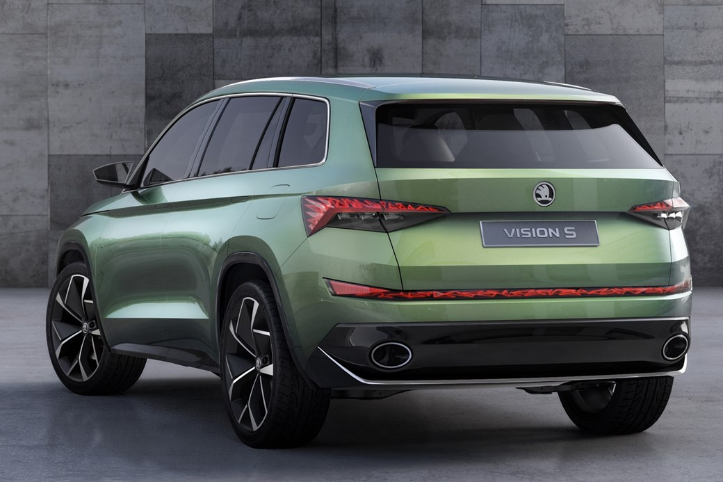 Skoda Vision S Concept Car Points To New 2017 Kodiaq