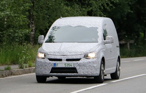 The next Skoda Roomster: just a VW Caddy badge-engineered