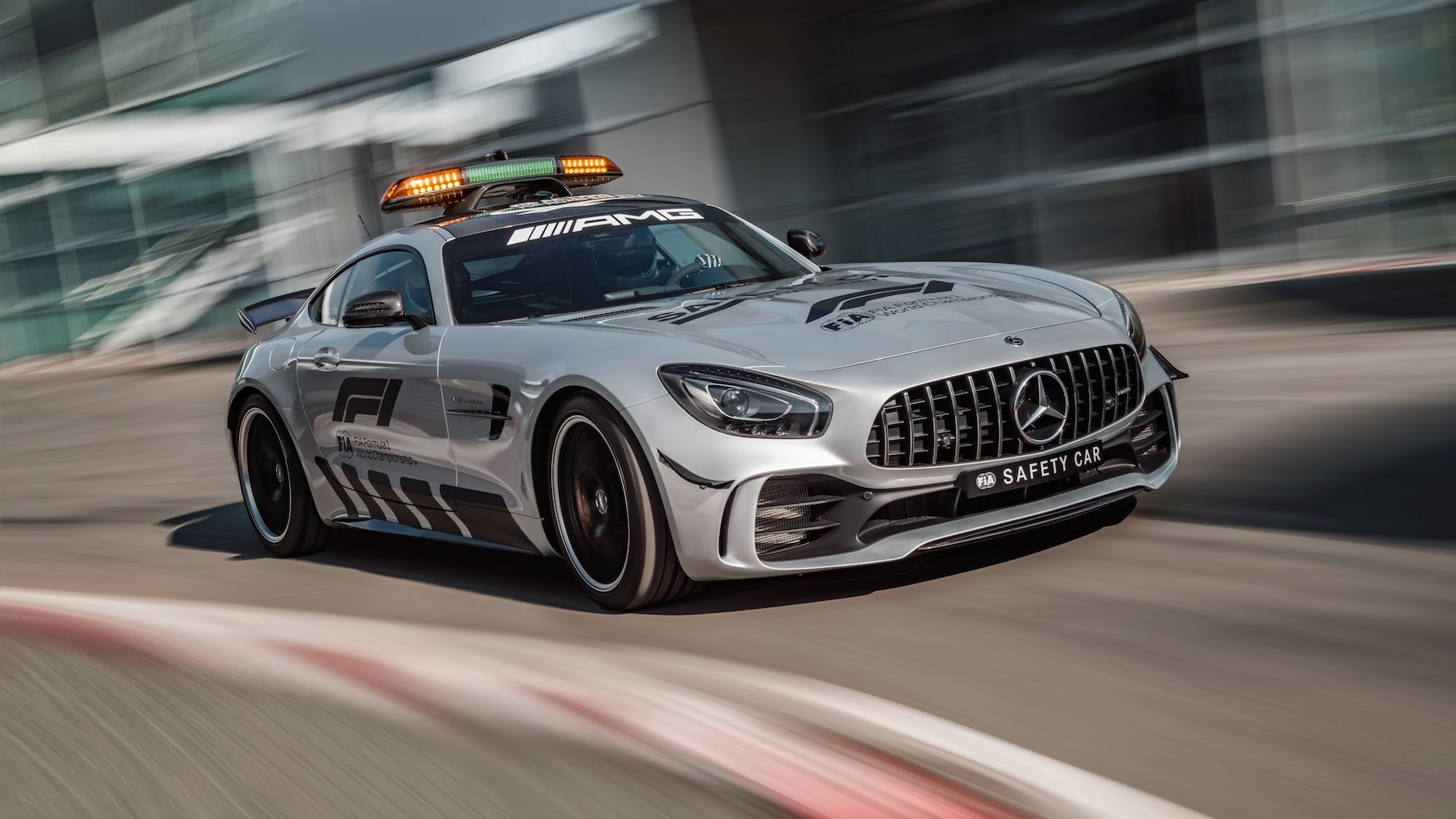the mercedes amg gt r is f1 s new 2018 safety car car magazine. Black Bedroom Furniture Sets. Home Design Ideas