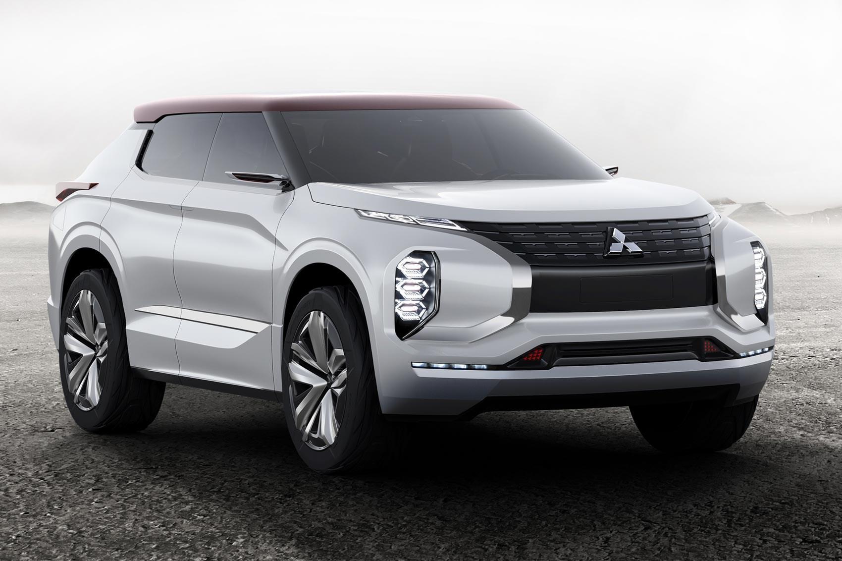 Triple Play Mitsubishi Gt Phev Concept Revealed At Paris 2016 Car Magazine