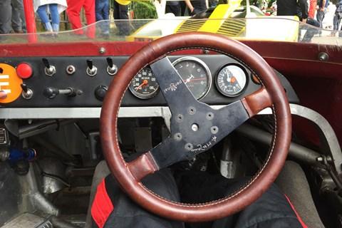 Alfa TT12 interior
