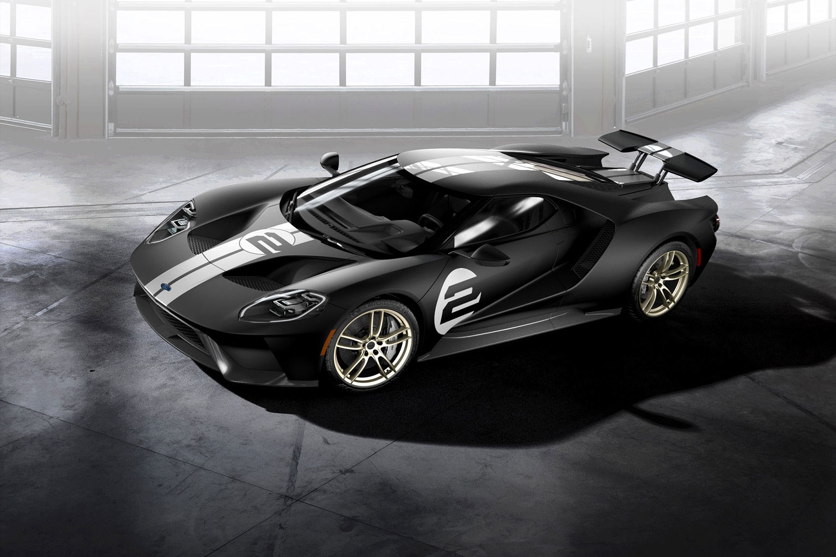 Ford Paints History New Gt  Heritage Edition Revealed