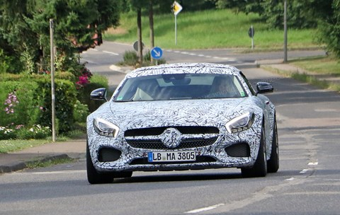 See it at the 2016 Paris motor show: the Merc-AMG GT C Roadster